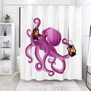 Other - 🐙 Purple Octopus Shower Curtain 🐙